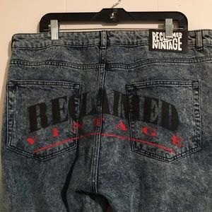 Men's reclaimed vintage jeans